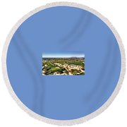 Hello Round Beach Towel