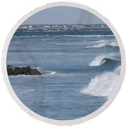 Hereford Inlet Round Beach Towel