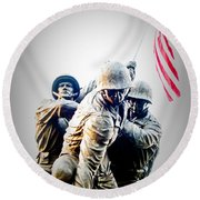 Heroes Round Beach Towel