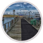 Hewitts Cove Round Beach Towel