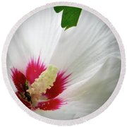 Hibiscus For One Round Beach Towel