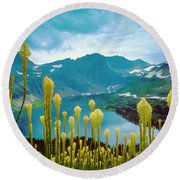 Hidden Lake, Gnp Round Beach Towel
