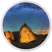 Hidden Valley Milky Way Round Beach Towel