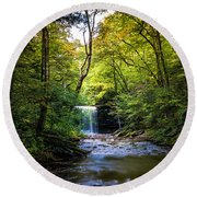 Round Beach Towel featuring the photograph Hidden Wonders by Marvin Spates