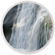 High Falls Three Round Beach Towel by Steven Richardson