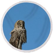 High Lookout Round Beach Towel