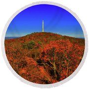 High Point State Park 1 Round Beach Towel by Raymond Salani III