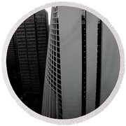 High Rise Round Beach Towel