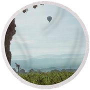 High Times Round Beach Towel