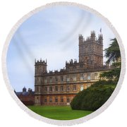 Highclere Castle Round Beach Towel