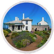 Highfield House Round Beach Towel