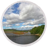 Highland Brora Round Beach Towel