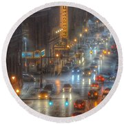 Hippodrome Theatre - Baltimore Round Beach Towel