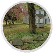 Historic Homestead Round Beach Towel