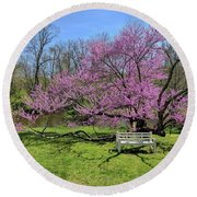 Historic Walnford Round Beach Towel