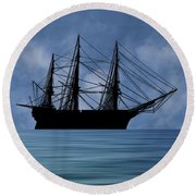 Hms Royal Albert 1854 V1 Round Beach Towel