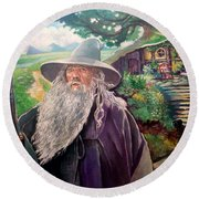 Hobbit Round Beach Towel