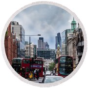 Holborn - London Round Beach Towel