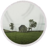 Holding On To Memories Round Beach Towel