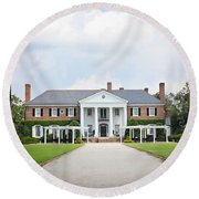 Home At Boone Hall Round Beach Towel