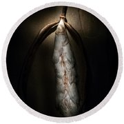 Hong Kong Orchid Seed Pod #3 Round Beach Towel