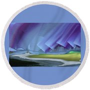 Honoring The Rainbow Round Beach Towel