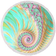 Hope For A Beautiful Day Round Beach Towel