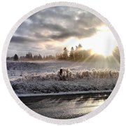 Hope  Round Beach Towel