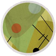 Hors D'oeuvres Round Beach Towel
