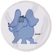 Horton Round Beach Towel