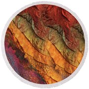 Hot Andalucia Nights Round Beach Towel