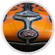 Ford 5 Round Beach Towel