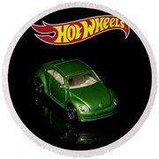 Hot Wheels 2012 Volkswagen Beetle Round Beach Towel