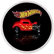 Hot Wheels '32 Ford Hot Rod Round Beach Towel