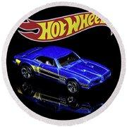 Hot Wheels '67 Pontiac Firebird 400-2 Round Beach Towel