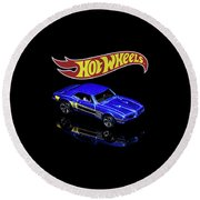 Hot Wheels '67 Pontiac Firebird 400-2 Round Beach Towel