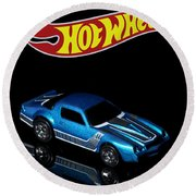 Hot Wheels 67 Pontiac Firebird 400-3 Round Beach Towel