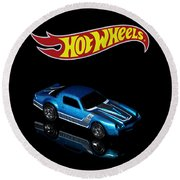 Hot Wheels 67 Pontiac Firebird 400-3 Round Beach Towel