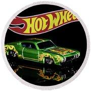 Hot Wheels '69 Ford Torino Talladega Round Beach Towel