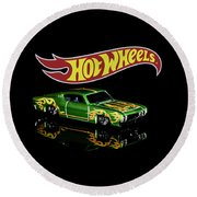 Hot Wheels '69 Ford Torino Talladega Round Beach Towel