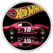 Hot Wheels '70 Chevy Chevelle-1 Round Beach Towel