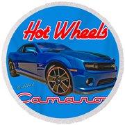 Hot Wheels Camaro Round Beach Towel