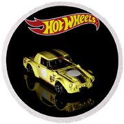 Hot Wheels Datsun Fairlady 2000 Round Beach Towel