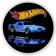 Hot Wheels Gm Camaro Z28 Round Beach Towel