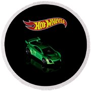 Hot Wheels Mastretta Mxr Round Beach Towel