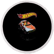 Hot Wheels Rocket Box Round Beach Towel