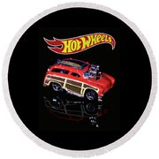Hot Wheels Surf 'n' Turf Round Beach Towel