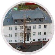 Hotel Leifur Eiriksson 7289 Round Beach Towel