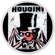 Houdini Round Beach Towel