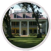 Houmas House Plantation Round Beach Towel